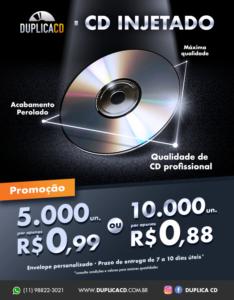 Promoção cd injetado